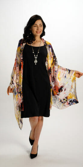 Silk Rectangle Scarves