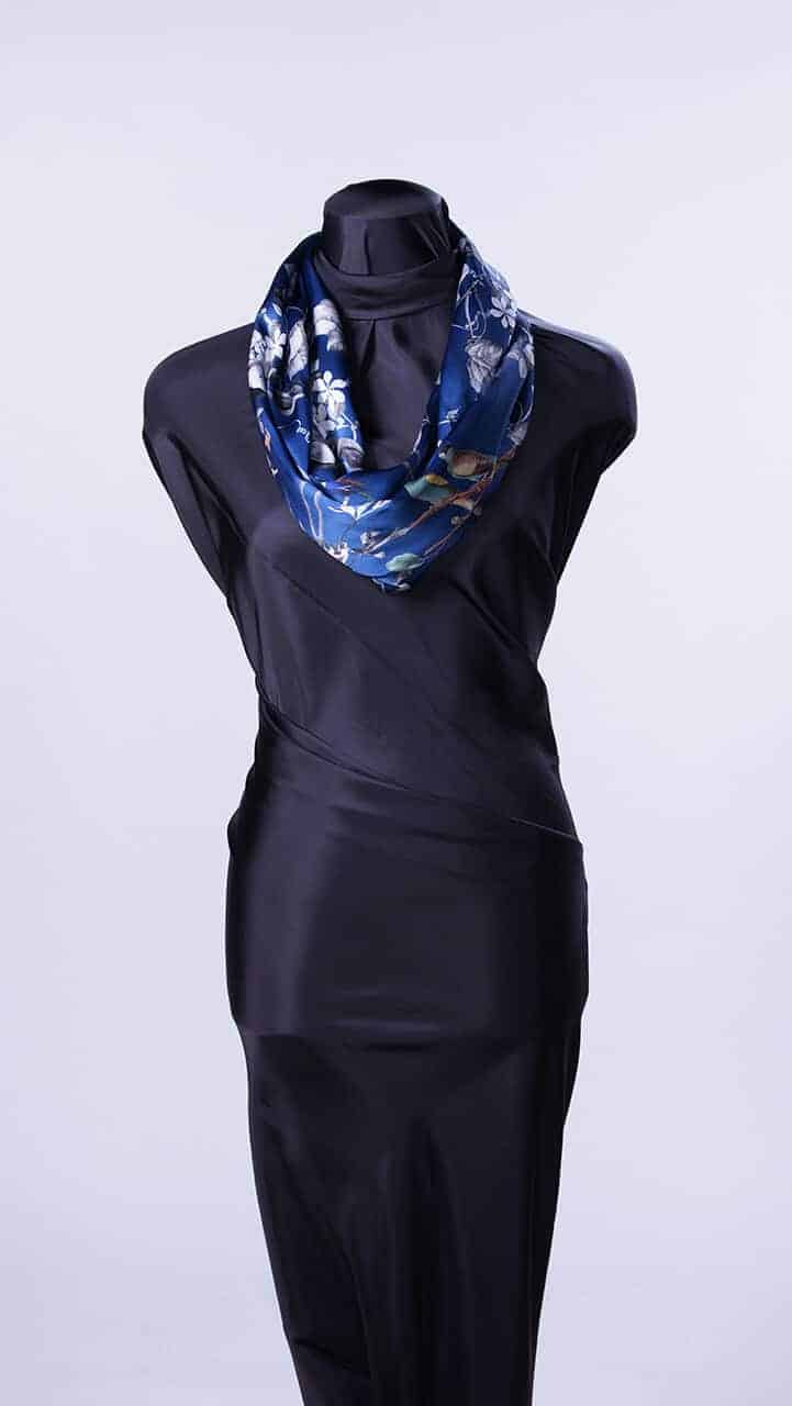 Blue Birds Infinity Scarf