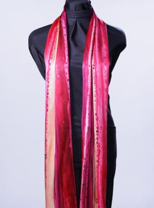 Paint It Hot Rectangle Scarf