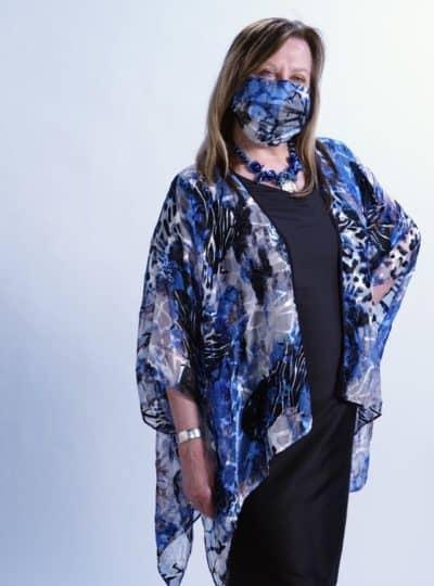 Cotton Masks with Silk Overlay