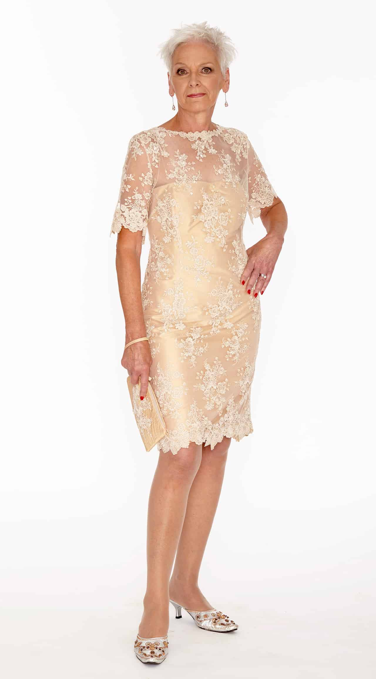 Francine French lace dress