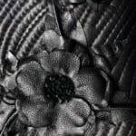 Black Leather Flower