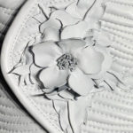 White Leather Flower