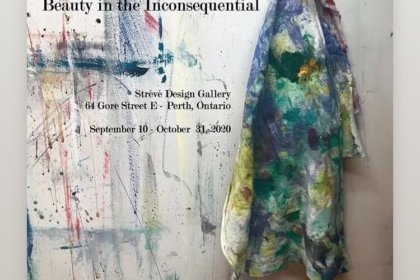 Beauty in The Inconsequential by Ottawa Abstract painter Karen Goetzinger
