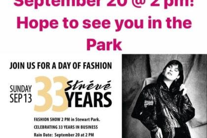 33rd Anniversary Fashion Show In Stewart Park