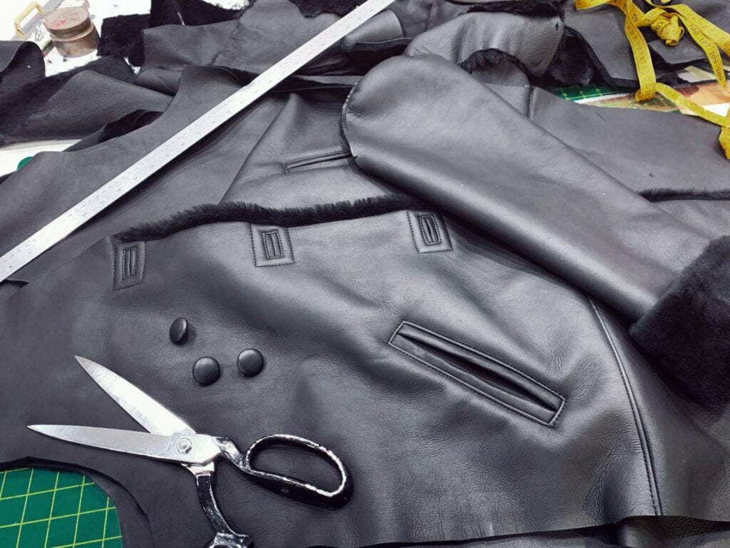 Shearling Coat design strece canada  -
